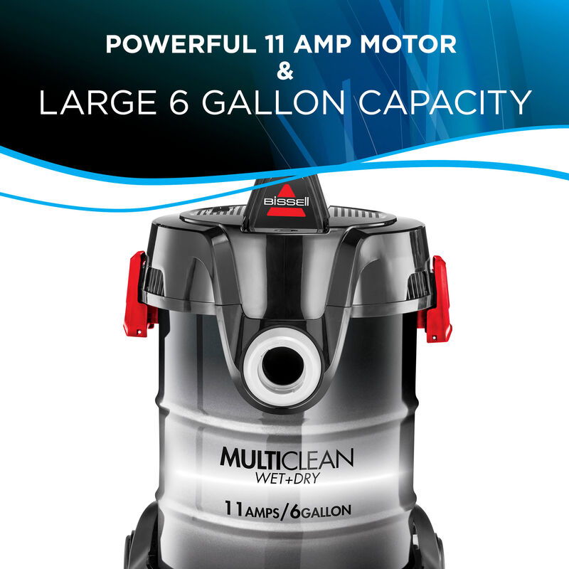MultiClean Wet Dry 6 Gallon Capacity