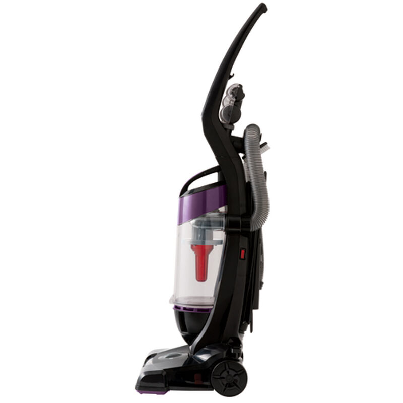 Cleanview OnePass Upright Vacuum 9595 Purple Side View
