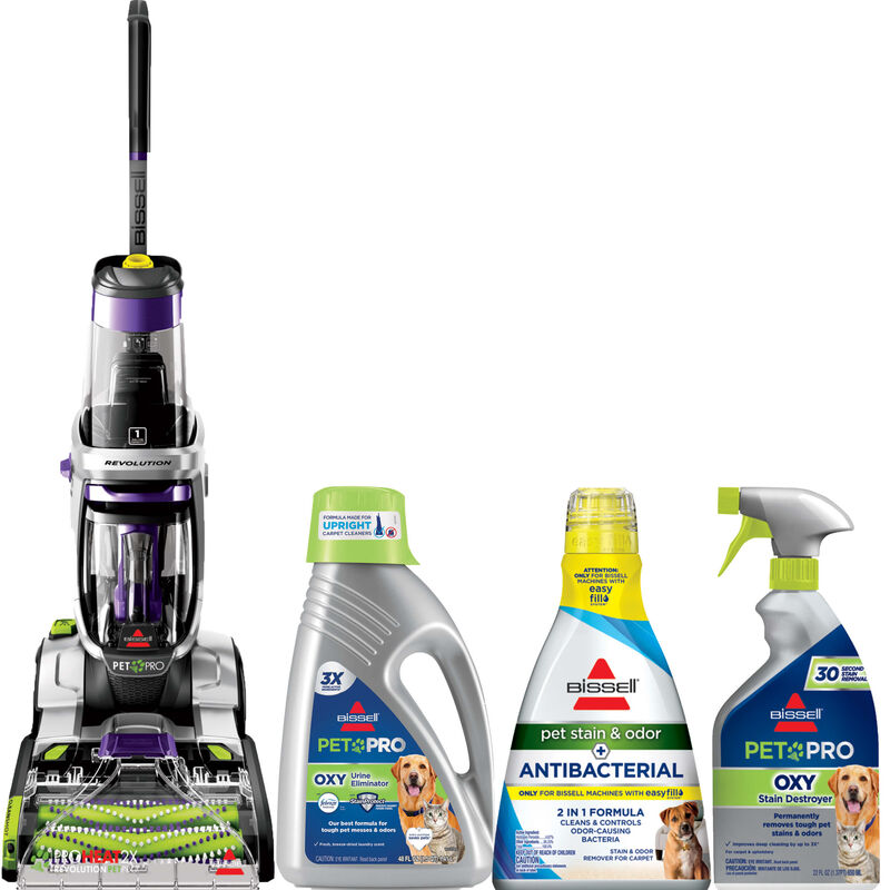 BISSELL ProHeat 2X Revolution Carpet Cleaner and Formula Bundle B0116