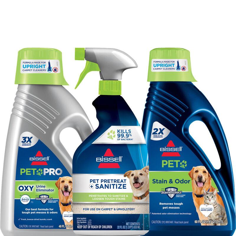 BISSELL Pet Sanitize Bundle BISSELL Carpet Formula BISSELL Sanitize Spot & Stain