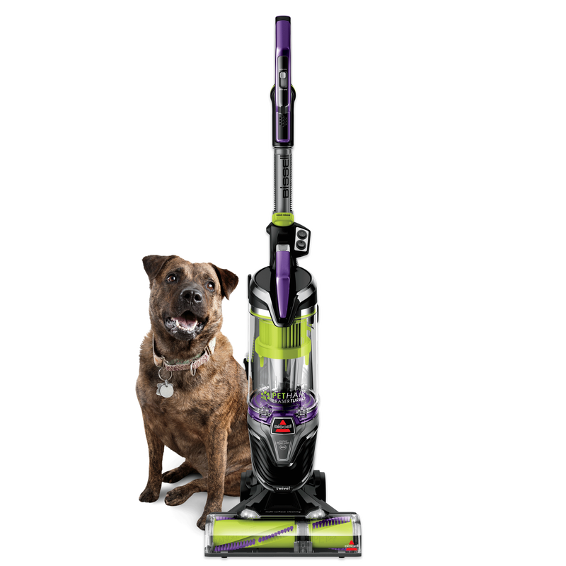 BISSSELL Pet Hair Eraser® Turbo 2281 Vacuuming Hero