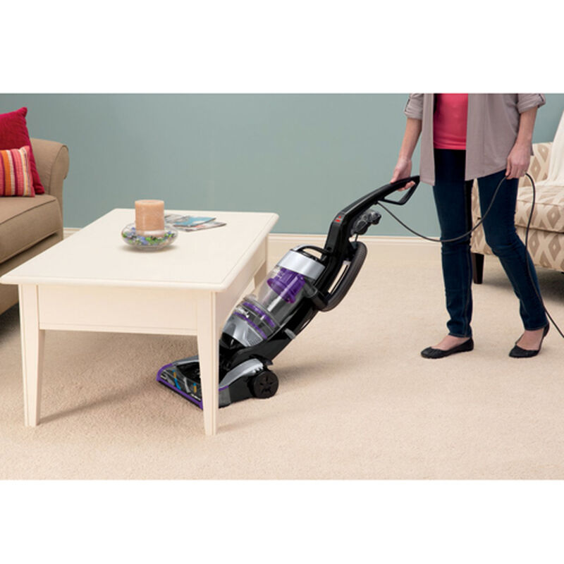 CleanView Deluxe Rewind Upright Vacuum 1322 Under Furniture Cleaning