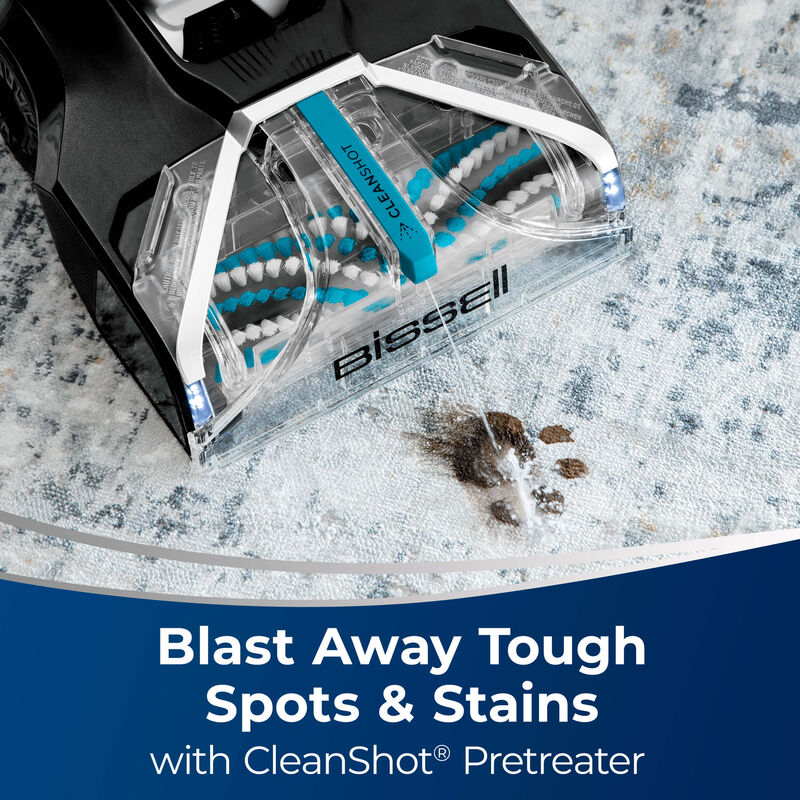 JetScrub™ Pet Carpet Cleaner 25299 Spots & Stains