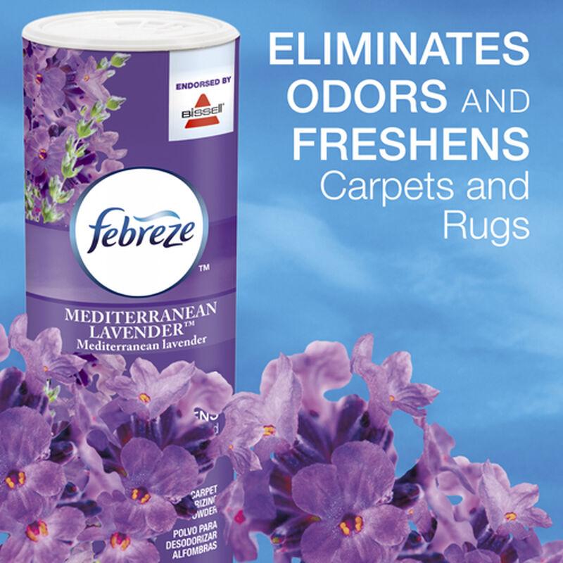 Febreze Mediterranean Lavender Carpet Powder 1110 Odor Eliminator