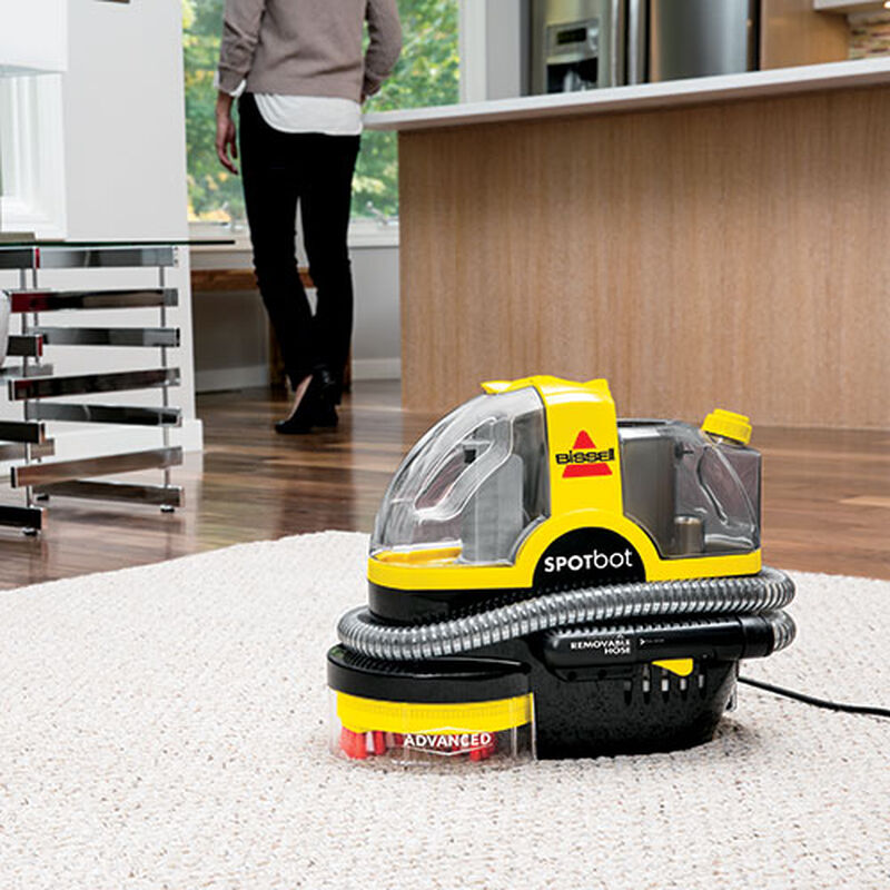 Spotbot Spot and Stain Carpet Cleaner 1711 stain cleaning