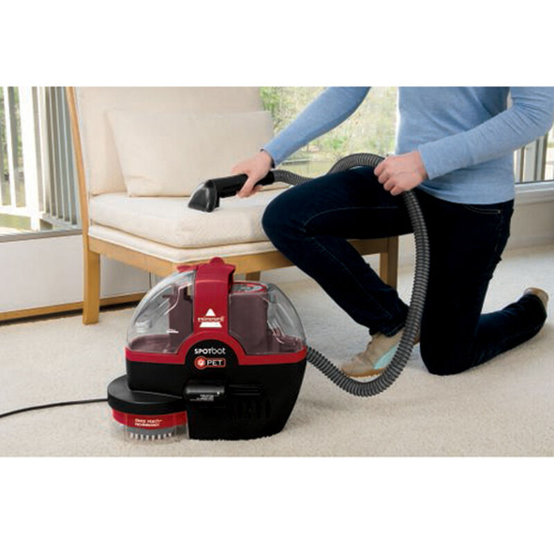 Spotbot Pet Portable Carpet Cleaner 33N8T Upholstery Cleaning