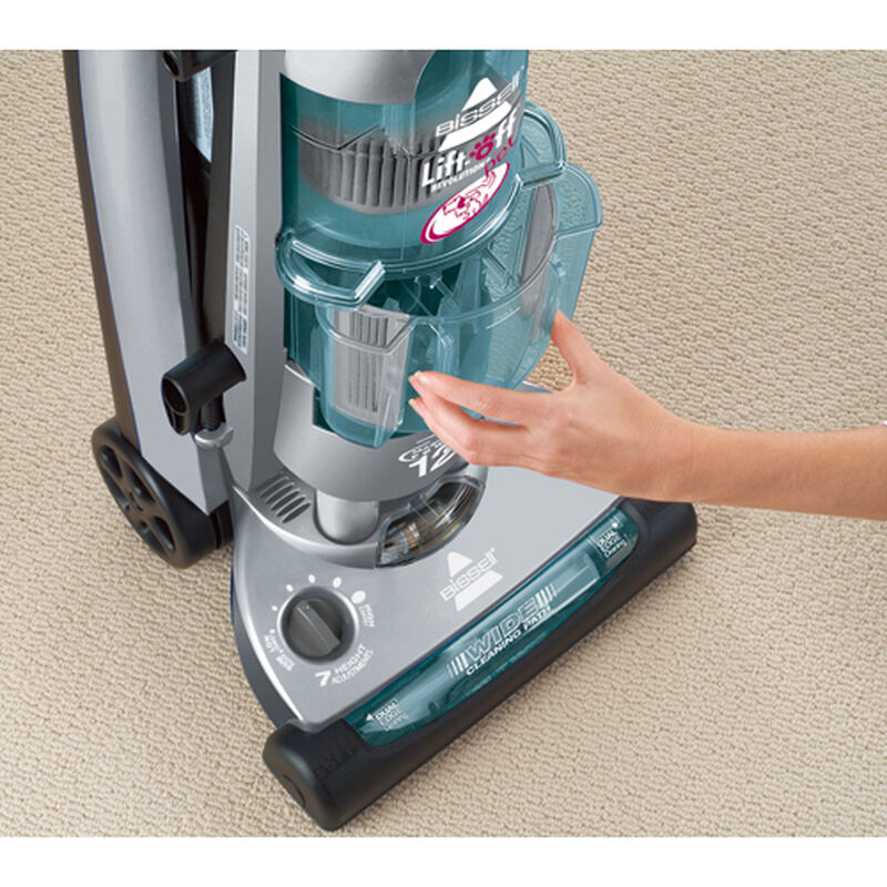 LiftOff Revolution pet Vacuum 37604 Dirt Container Removal