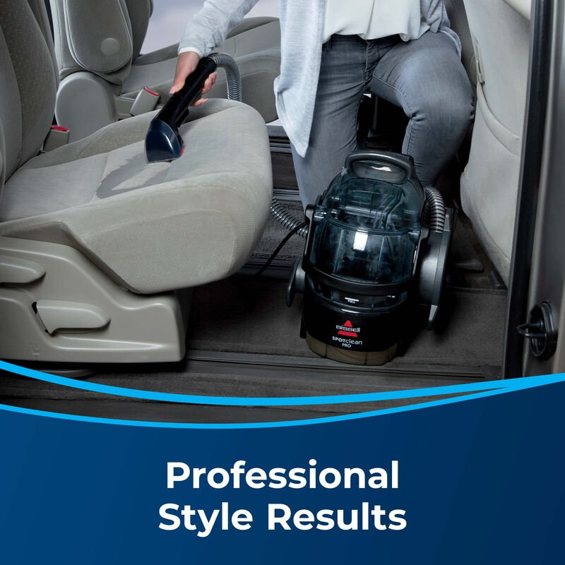 BISSELL SpotClean Pro Portable Carpet Cleaner 3624 Professional Results