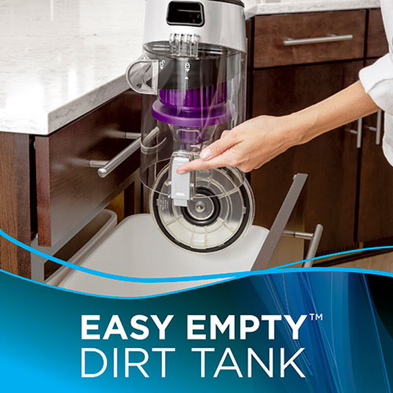 CleanView Rewind Pet Deluxe 1838 BISSELL Vacuum Cleaner Empty Dirt Tank