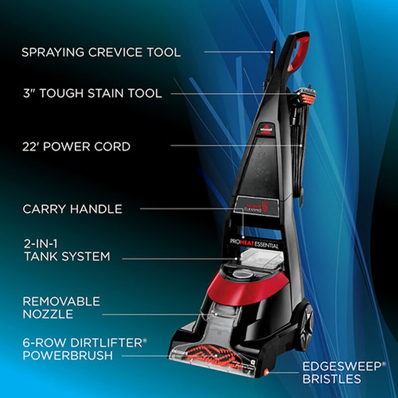ProHeat Essential 1887 Upright Carpet Cleaner Tour