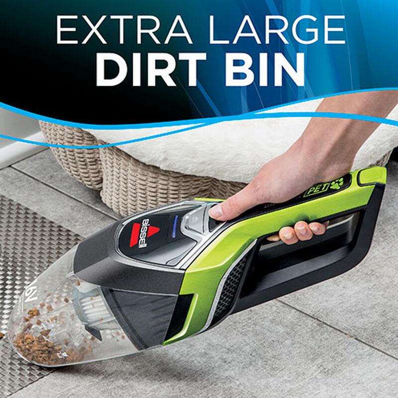 BOLT Cordless Hand Held Vacuum Large Dirt Bin