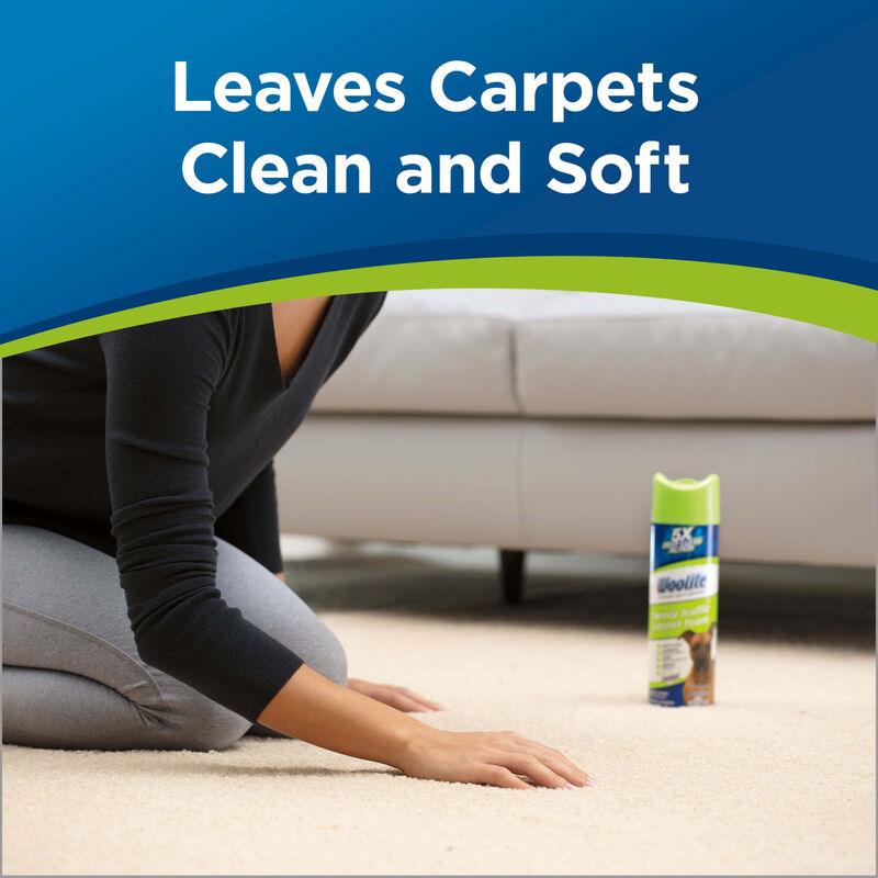 Woolite Heavy Traffic Foam Carpet Cleaner Clean and Soft