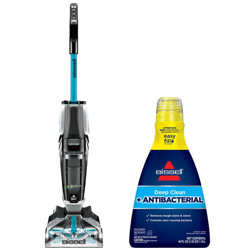 BISSELL JetScrub Carpet Cleaner Deep Clean Antibacterial Formula Bundle B0159
