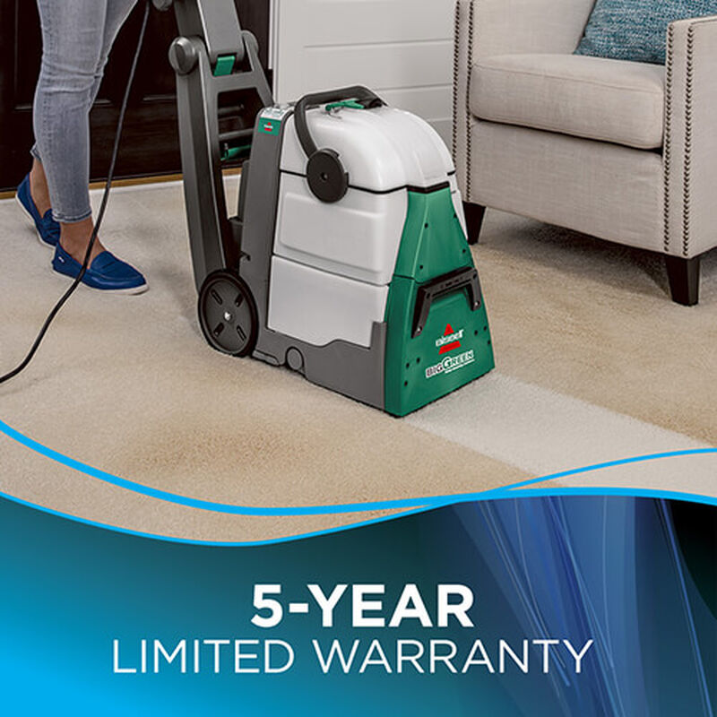Big Green Machine Professional 86T3 BISSELL Carpet Cleaner Up Warranty