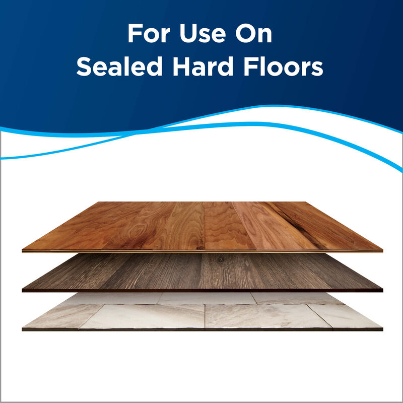 BISSELL Hard Floor Sanitize Formula CrossWave and SpinWave 2504 Surfaces