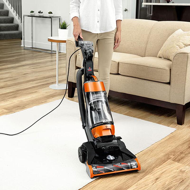 CleanView Bagless Vacuum Cleaner Carpet to Bare Floor
