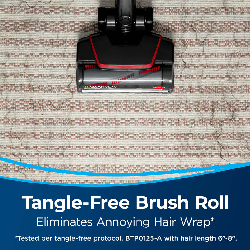BISSELL CleanView® Pet Slim Corded Vacuum 28311 Tangle Free Brush Roll