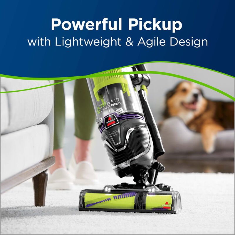 BISSSELL Pet Hair Eraser® Turbo 2281 Vacuums Lightweight Swivel Steering