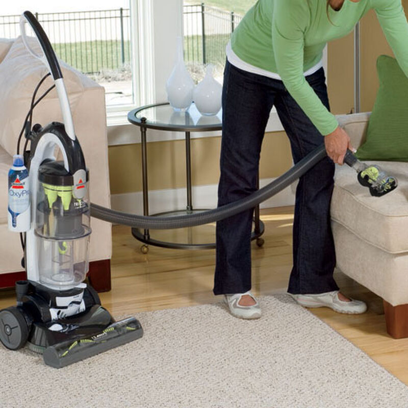 Trilogy MultiCyclonic Bagless Vacuum 81M9 upholstery