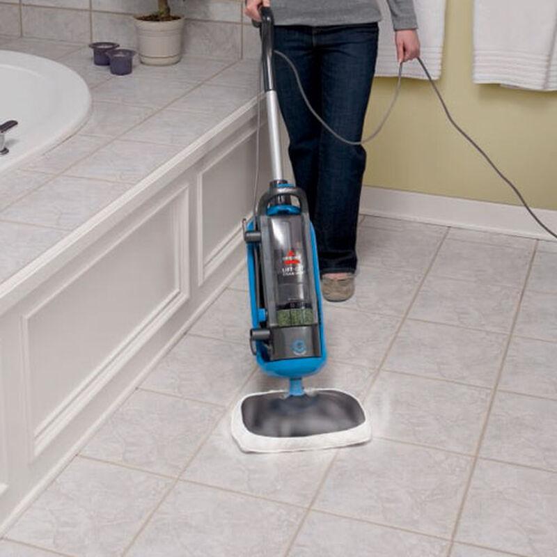LiftOff Steam Mop 39W7 Bathroom Floor Cleaning