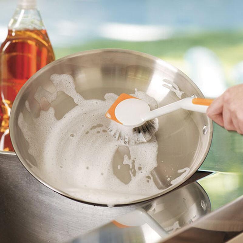 Kitchen and Dish Scrub Brush 1765 pots and pans scrubbing