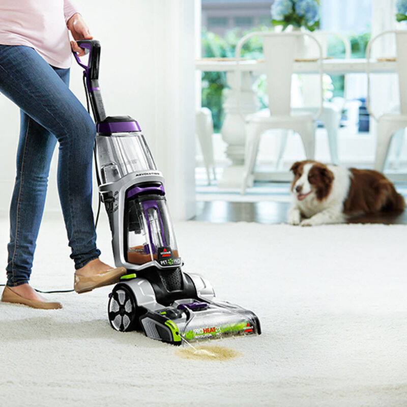 ProHeat 2X Revolution Pet Pro 1986 BISSELL Carpet Cleaner Machine Clean Shot