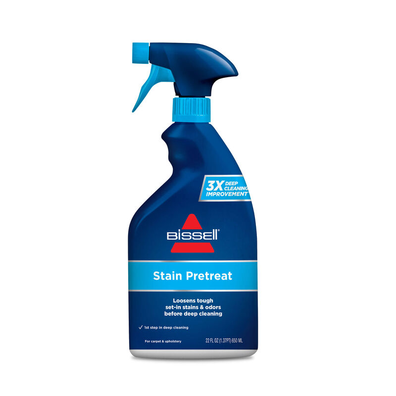 BISSELL Tough Stain Pretreat for Carpet & Upholstery 4001 Front Label