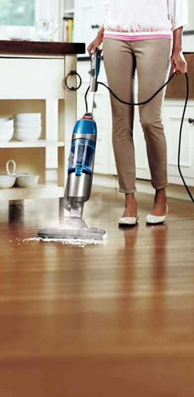 Symphony Vacuum and Steam Mop 1132P wood floor steaming