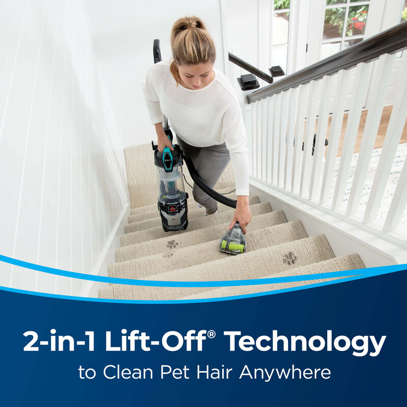 BISSELL MultiClean Allergen Lift-Off Pet Vacuum Cleaner 2998 Stairs