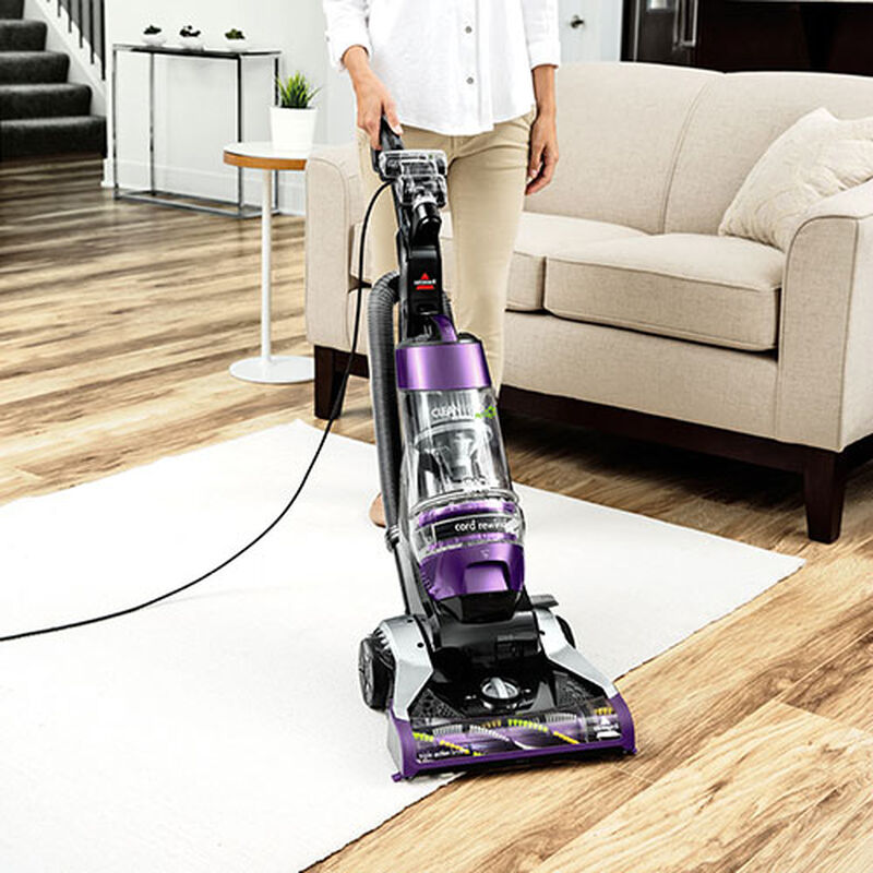 CleanView Rewind Pet Deluxe 1838 BISSELL Vacuum Cleaner Change Flooring