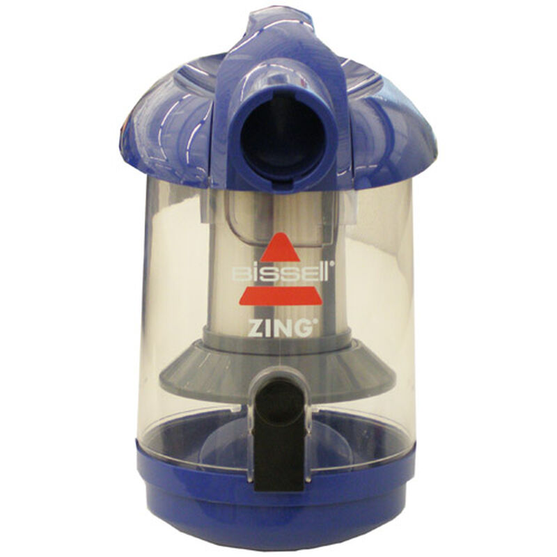 Dirt Tank Zing 2031548 BISSELL Canister Vacuum Parts front