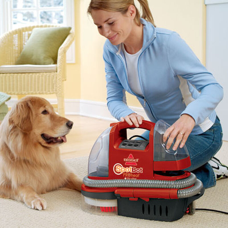 Spotbot Proheat Portable Carpet Cleaner 12U9 Collection Tank Removal