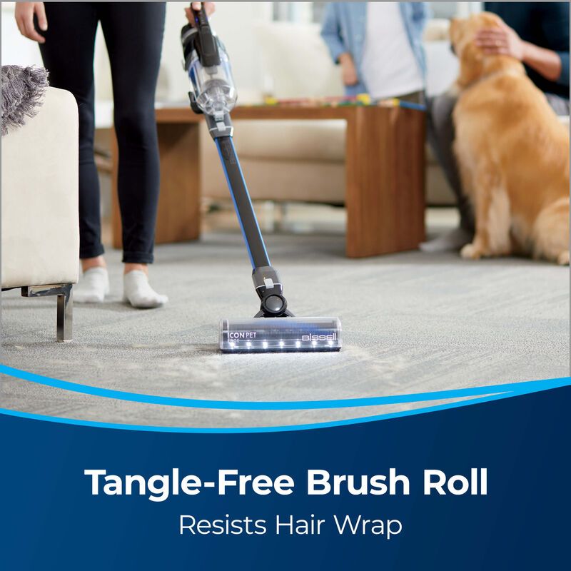 BISSELL® ICONpet™ EDGE Cordless Vacuum 2894A Tangle Free