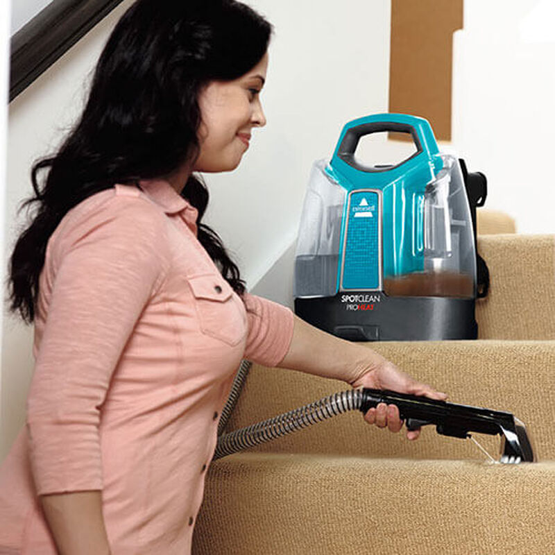 Spotclean_2459_BISSELL_Portable_Carpet_Cleaner_stairs