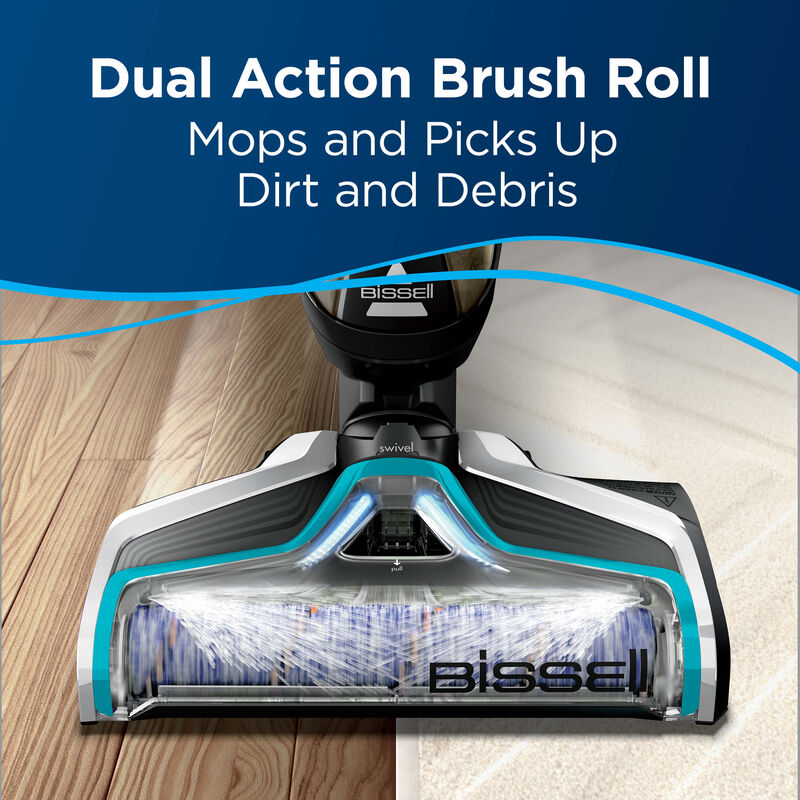 CrossWave Multi-Surface Wet Dry Vac Multi-Surface Brush Roll 1608683 Dual Action