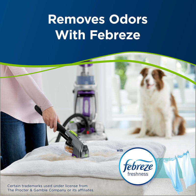 PET PRO OXY with Febreze 2216 BISSELL Carpet Cleaning Formulas Febreze