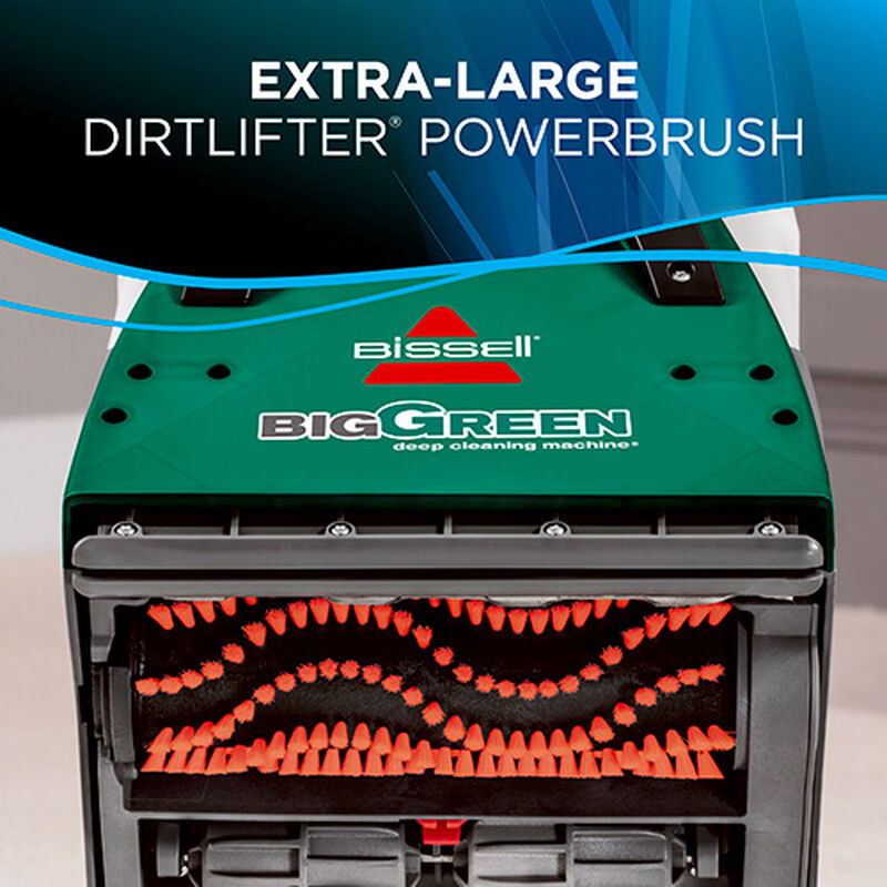 Big Green Machine Professional 86T3 BISSELL Carpet Cleaner Up PowerBrush