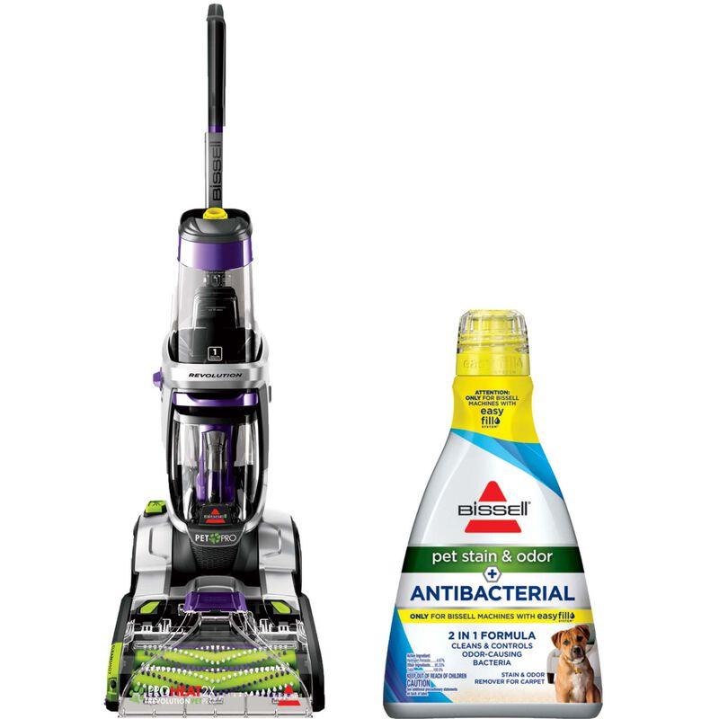 Revolution Pet Pro Pet Antibacterial Formula Bundle BISSELL Carpet Cleaning