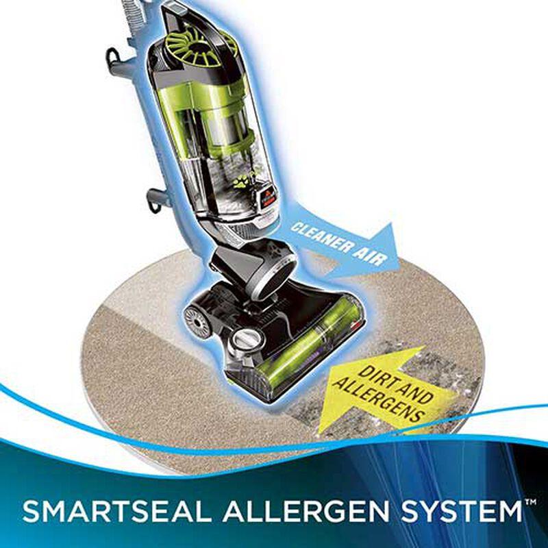 BISSELL Pet Hair Eraser Vacuum smart seal technology, best vacuum for pet hair, bissell pet hair eraser, best vacuums for pet hair