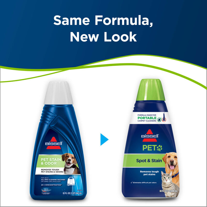 2X® Pet Stain & Odor Carpet Cleaning Formula New Look