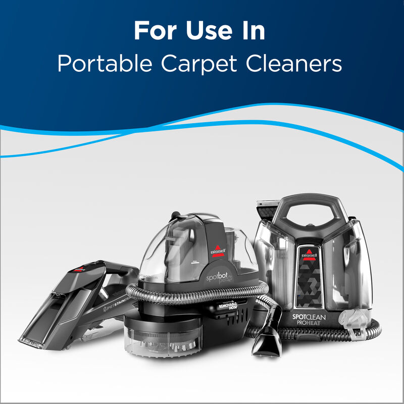 PRO Spot and Stain Text: For Use in  Portable Carpet Cleaners