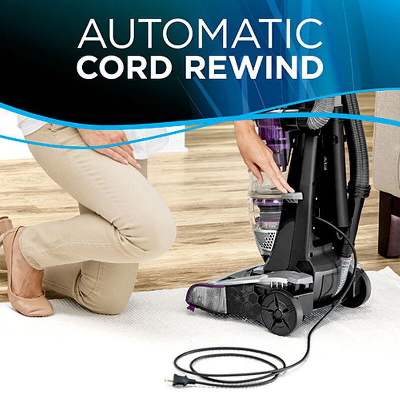 CleanView Rewind Pet Deluxe 1838 BISSELL Vacuum Cleaner Cord Rewind
