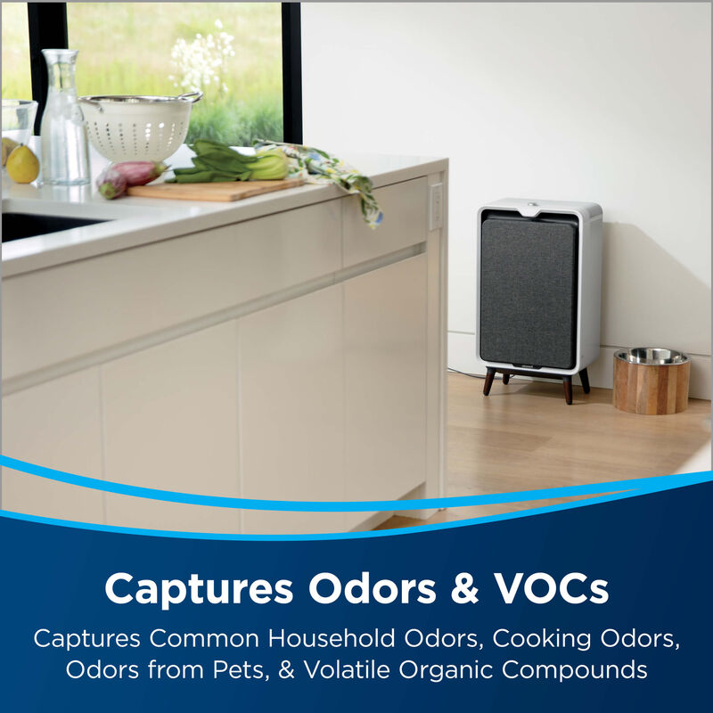 Activated Carbon Filter for Select BISSELL Air Purifiers 2677 Captures Odors & VOCs