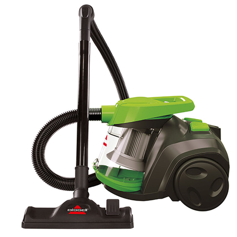 Zing Bagless Canister Vacuum Side