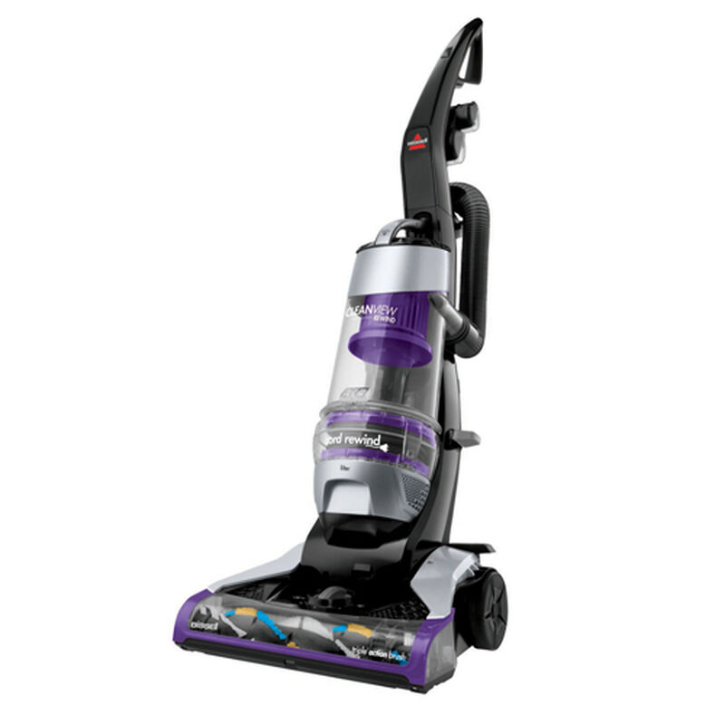 CleanView Deluxe Rewind Upright Vacuum 1322 Left Angle Recline View