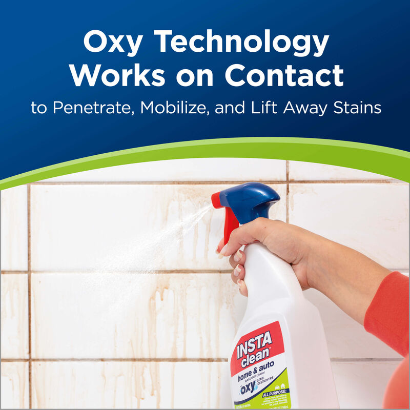 InstaClean™ Home & Auto Pre-treat Stain & Odor Remover Oxy Technology