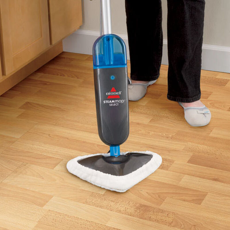 Steam Mop Select sealed hardwood floors