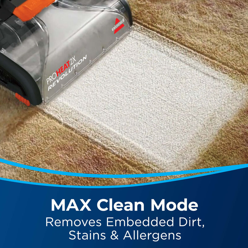 BISSELL ProHeat 2X® Revolution® Pet Carpet Cleaner 1548 MAX Clean Mode