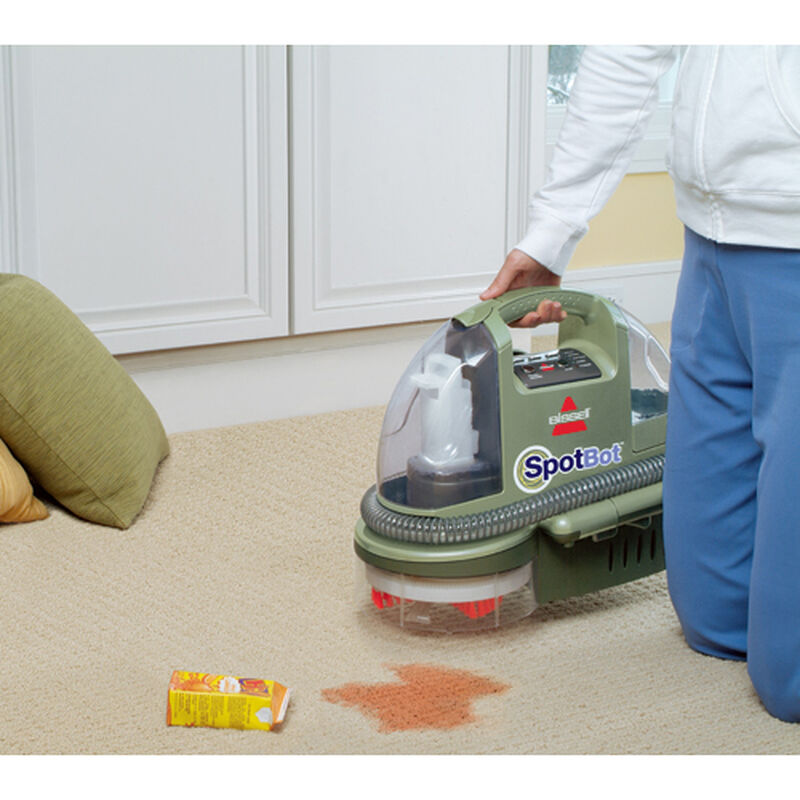 Spotbot Portable Carpet Cleaner 12005 Spot Cleaning