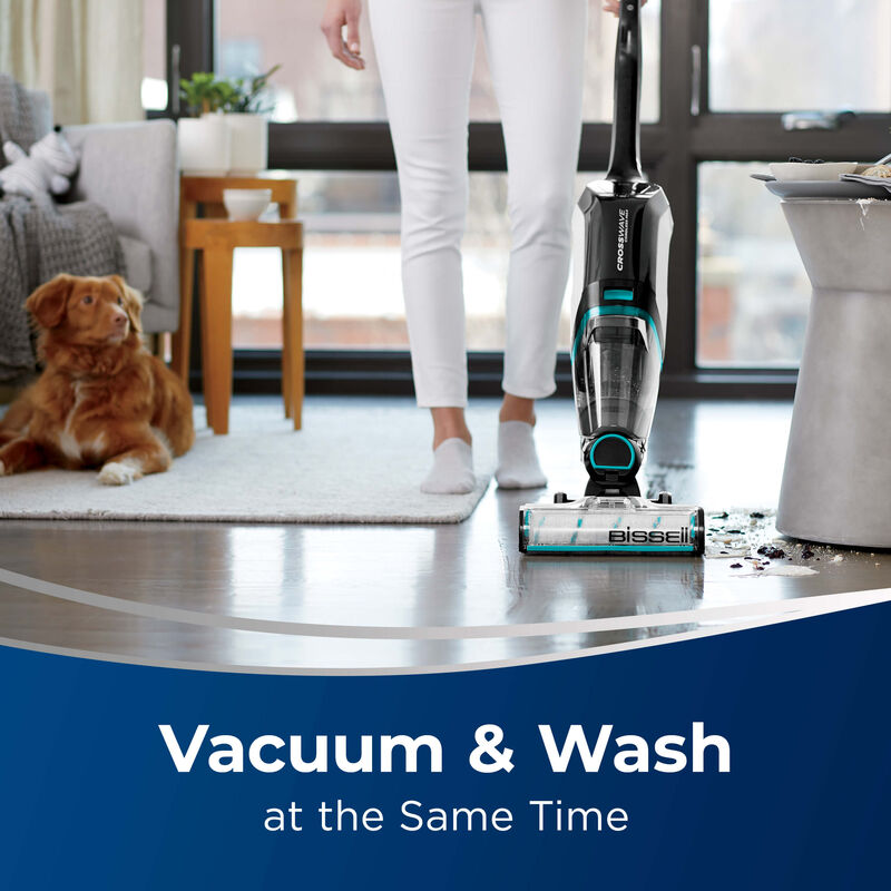 BISSELL CrossWave Cordless Max Multi Surface Wet Dry Vac Vac & Wash